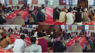 Photo of آل بہار شیر شاہ آبادی ایسوسی ایشن(ارریا) کی ایک اہم مشاورتی میٹنگ: بلاک اور پنچایت کمیٹی کا از سر نو تشکیل پر غور وفکر